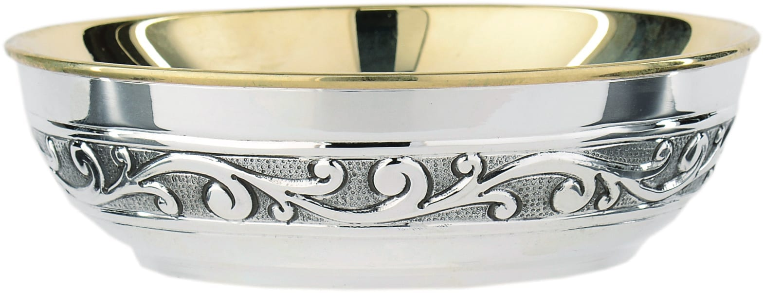 Chiseled silver plate art 6282/b