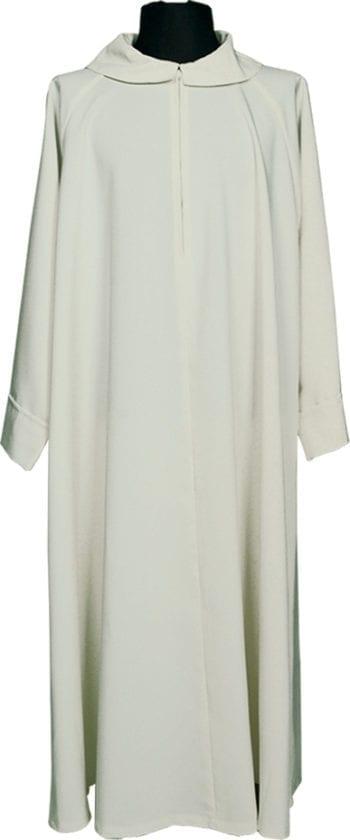 """Camice """"Ragusa2"""" Maranatha Lab in tessuto misto cotone dal color avorio e dal taglio classico."""