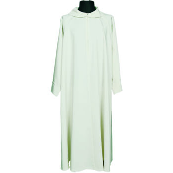 """Camice""""Ragusa""""MaranathaLab in tessuto microfibra arricchito di cappuccio, avente una vestibilità ampia."""