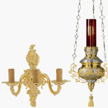 Lamps and appliques