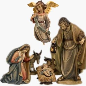 stock wooden nativity scenes