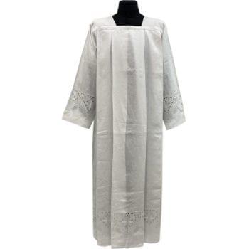 camice in tessuto lino