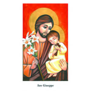 Image of saint joseph 6 × 10,5 cm